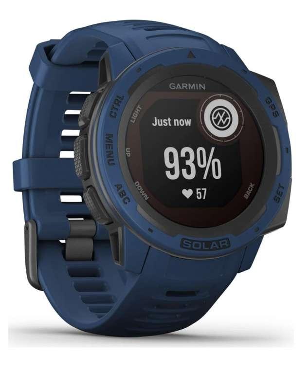 Garmin Instinct Solar Camo Multisport GPS-Uhr für 249,99€ inkl. Versand (statt 273€)