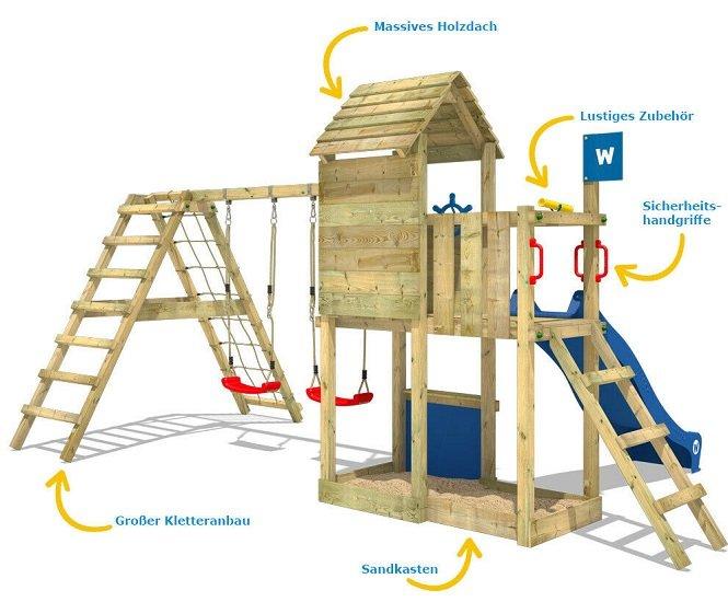 Wickey Smart Port Spielturm 2