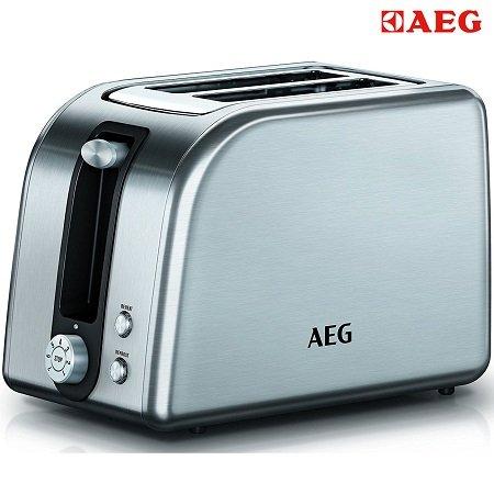 AEG AT 7700 PremiumLine Toaster mit 850 Watt für 29€ inkl. VSK (statt 39,99€)