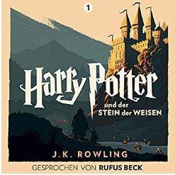 Harry Potter und der Stein der Weisen (Hörbuch) - Gesprochen von Rufus Beck kostenlos (statt 25€)
