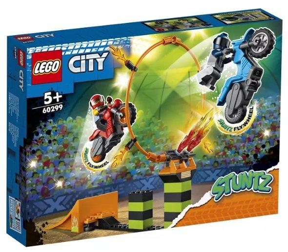 Lego 60299 Stunt-Wettbewerb Bausatz für 17,48€ inkl. Versand (statt 20€)