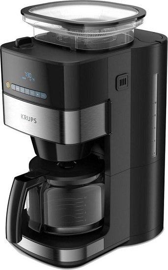 Krups KM8328 Grind and Brew Kaffeemaschine, 1,25l Kaffeekanne für 129,90€ (statt 173€)
