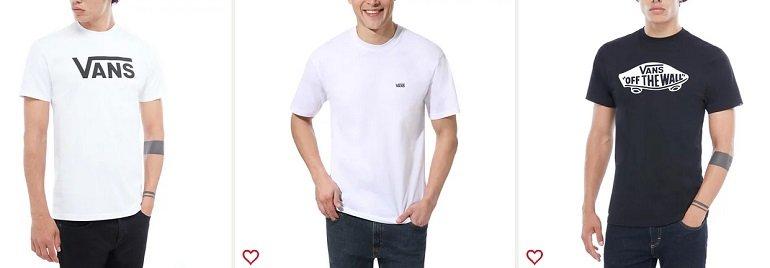 VANS 30% Rabatt auf T-Shirts & Tank tops