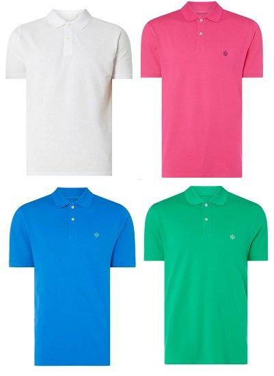 Montego Poloshirt aus Piqué in verschiedenen Farben für je nur 7,99€ (statt 16€)