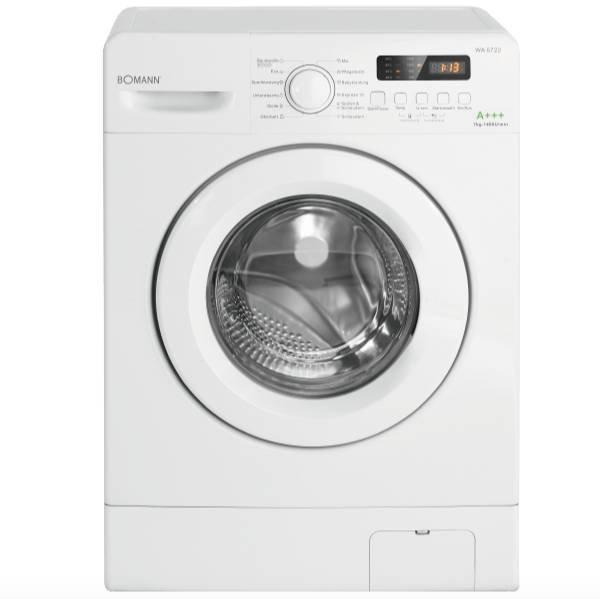 Bomann WA 5722 Waschmaschine (7 kg, 1400 U/Min., A+++) für 199€ (statt 278€)