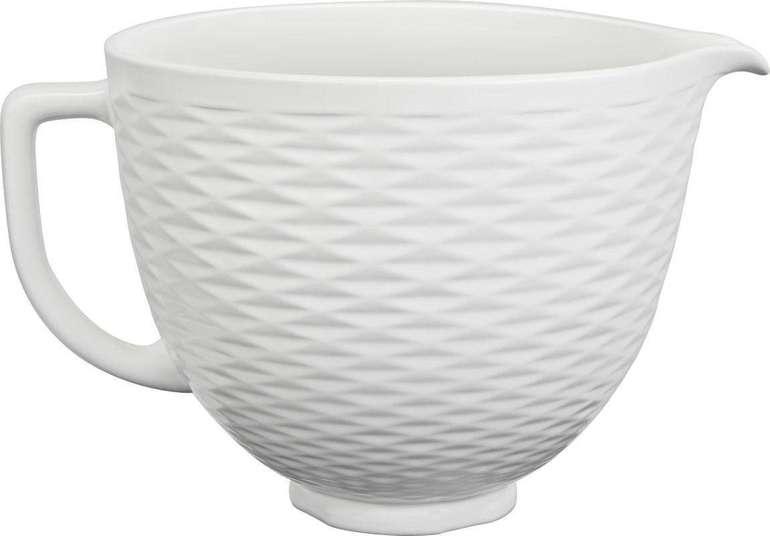 KitchenAid 4,7 Liter Keramikschüssel 5KSM2CB5TLW für 48,73€ inkl. Versand (statt 59€)