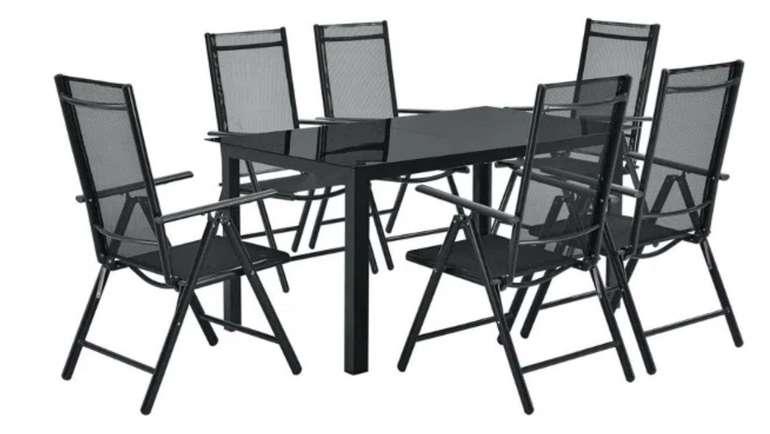 ArtLife Aluminium-Gartengarnitur Milano mit Tisch und 6 Stühlen für 304,95€ inkl. Versand (statt 400€)