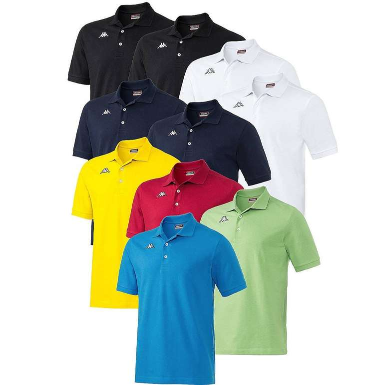 10er Pack Kappa Polo-Shirts für 96,75€ inkl. Versand (statt 147€)