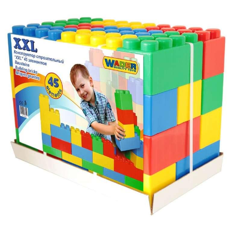 Wader Quality Toys Bausteine XXL (45 Stück) für 40€ inkl. Versand (statt 47€)