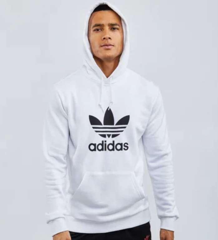 Adidas Originals Trefoil Herren Hoodie in weiss für 29,99€ inkl. Versand (statt 60€)