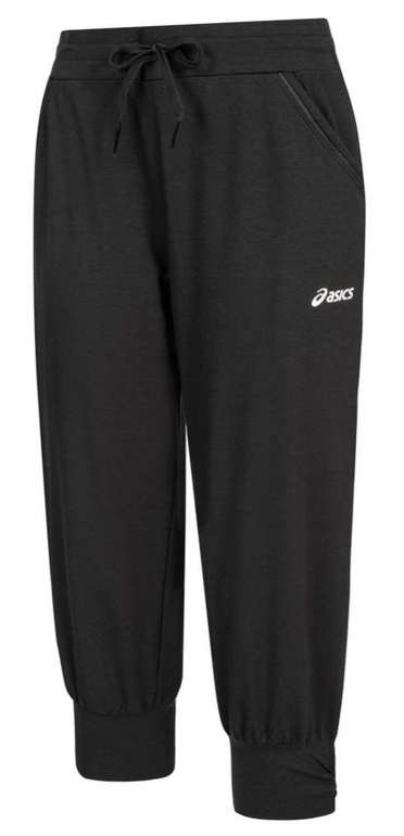 Asics Knit Capri Damen 3/4-Jogginghose in Schwarz für 18,94€ inkl. Versand (statt 25€)