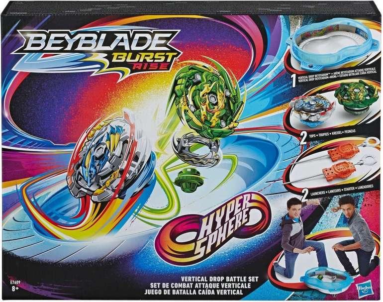 Hasbro Geschicklichkeitsspiel Beyblade Burst Rise Hypersphere Vertical Drop Battle Set für 37,98€ inkl. Versand