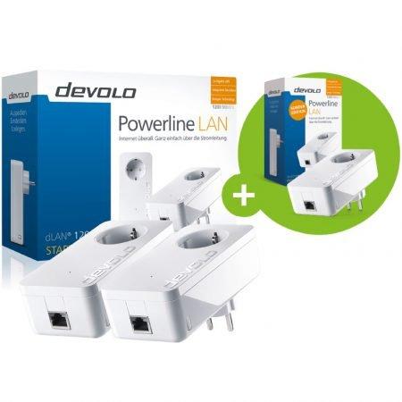 3er Pack Devolo dLAN 1200+ Adapter für 79,99€ inkl. Versand (statt 142€)
