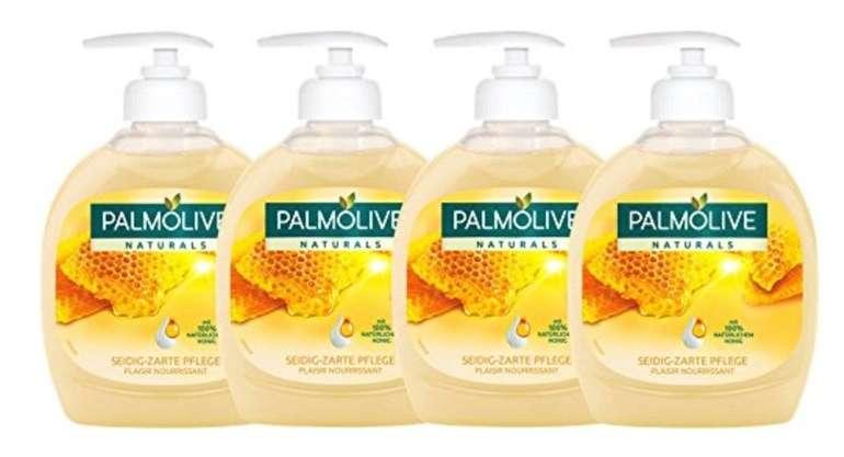 Preisfehler? 4er Pack Palmolive Flüssigseife Milch und Honig (je 300 ml) für 1,39€ (Prime)