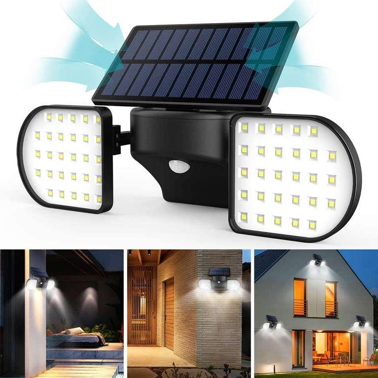 Jbhoo Produkte bei Amazon reduziert, z.B. Solar Außenleuchte mit Bewegungssensor für 16,89€ (Prime)