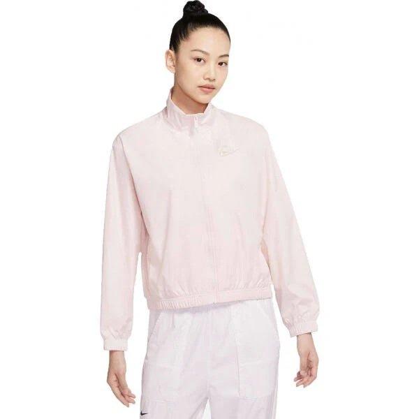 Nike Sportswear Damen Jacke in Puder für 42,32€ inkl. Versand (statt 52€)