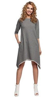 Made of Emotions Mode Sale, z.B. Kleid in grau für nur 27,99€ zzgl. VSK