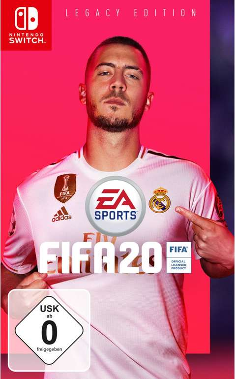 FIFA 20 Legacy Edition (Nintendo Switch) für 24,99€ inkl. Versand (statt 35€)