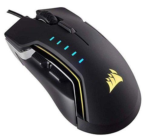 Corsair GLAIVE RGB Gaming Maus für 38,98€ inkl. VSK (statt 56€)