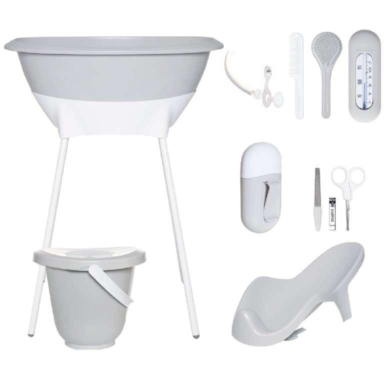 Luma Babycare Bade- und Pflegeset in Light Grey für 64,39€ inkl. Versand (statt 90€)