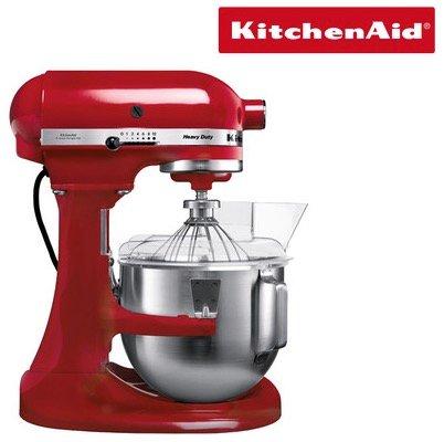 KitchenAid 5KPM5EER Heavy Duty Küchenmaschine + K5AWJ Wasserbad für 401,54€