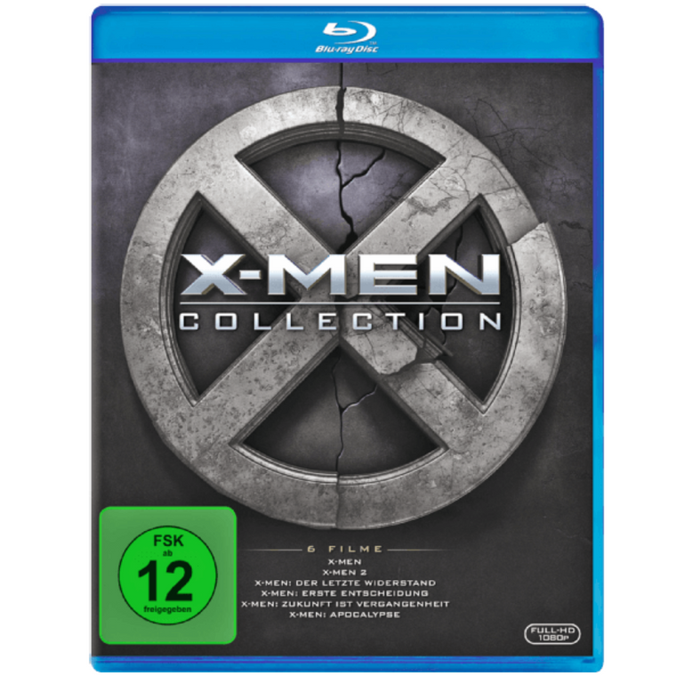 X-Men Collection 1-6 Box Set (Blu-ray) für 22€ inklusive Versand statt 35€