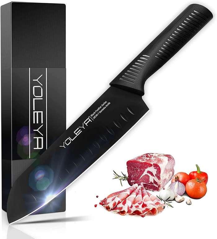 Yoleya Santoku Messer (antihaft Beschichtung, rostfrei) für 19,99€ inkl. Prime Versand (statt 40€)