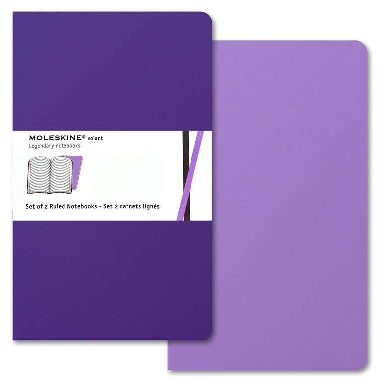 2er Set Moleskine Volant Large Notizbuch liniert für 6,29€ inkl. Versand (statt 13€) - Thalia Club + Newsletter
