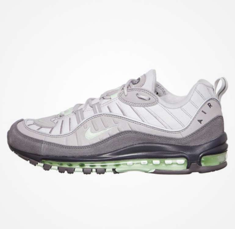 "Nike Air Max 98 ""Fresh Mint"" (Vast Grey / Fresh Mint / Atmosphere Grey) für 81,87€"