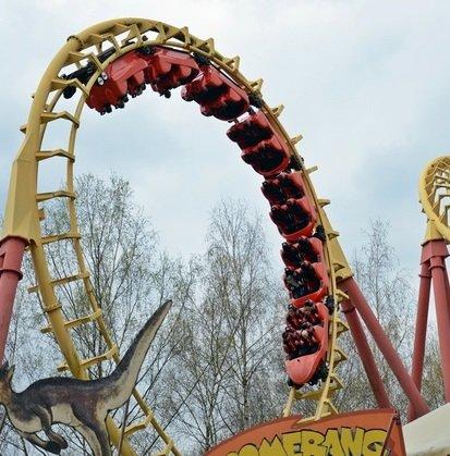 Top! Freizeitland Geiselwind: Eintrittskarten ab 14,02€ (statt 27€) + Menü für 26,86€