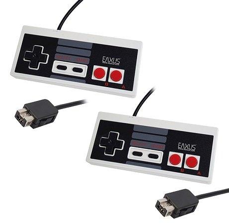 Eaxus - NES Classic Mini Controller im Doppelpack für 11,99€ (statt 20€)