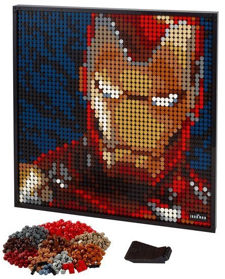 LEGO Art 31199 - Marvel Studios Iron Man für 71,24€ (statt 85€) - Kundenkarte!