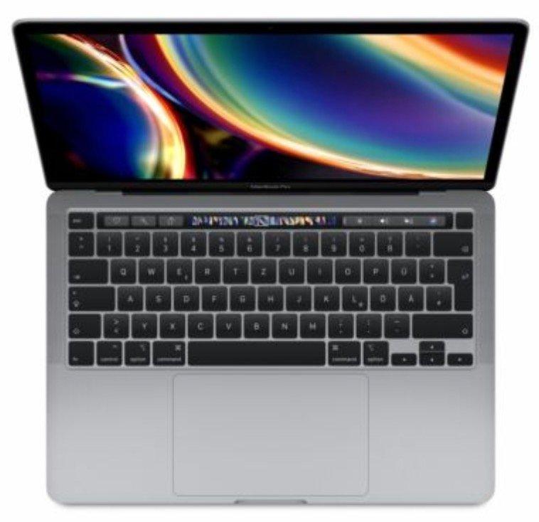 """Apple MacBook Pro 13"""" (2020) mit i5 1,4 GHz, 8GB RAM, 512GB SSD in space grau für 1.429,90€ (statt 1.529€)"""