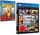 Grand Theft Auto 5 + Borderlands 3 für Ps4 22,53€ inkl. Versand (statt 37€)