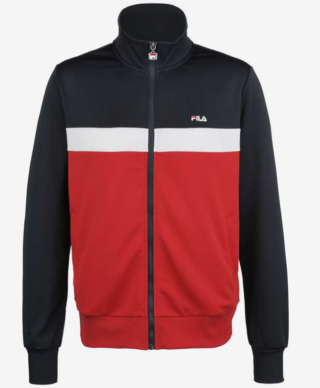 "Fila Herren Trainingsjacke ""Sanga"" in blau / rot / weiß für 24,95€ inkl. Versand (statt 51€)"