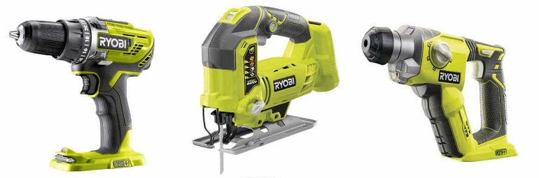 Ryobi One Powertool-Set