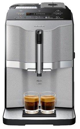 Siemens EQ.3 s300 Kaffeevollautomat (1300W, 15bar, 1.4l Wasser) für 261,89€