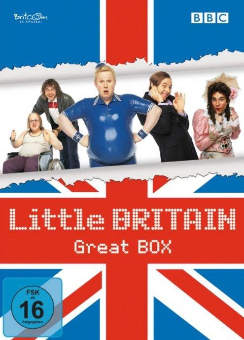 Little Britain Great Box für 14,99€ inkl. Versand (statt 20€)