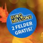 6 Felder EuroMillions für 11€ (statt 16,50€) - tgl. Auslosung - 17 Mio € Jackpot