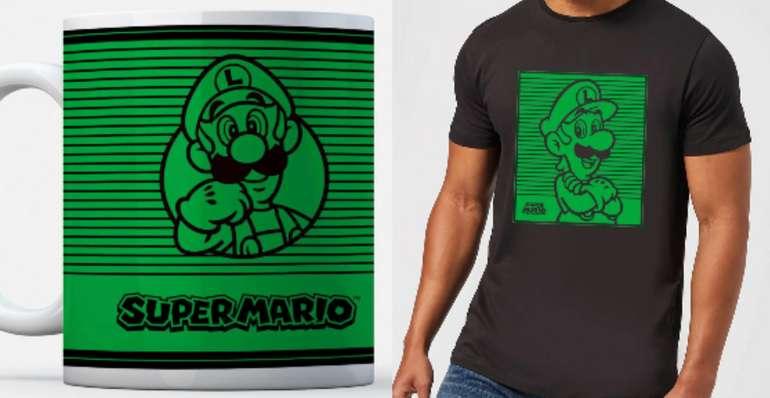 T-Shirt & Tasse im Super Mario Bundle in 3 Motiven für 12,98€ (statt 19€)
