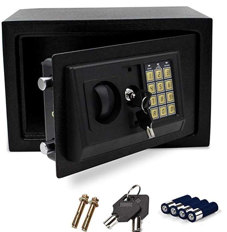 Elektronischer Wolketon Safe bzw. Möbeltresor (31 x 20 x 20 cm) für 25,89€ (statt 37€)