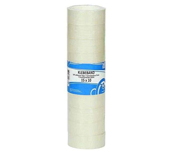 Preisfehler? 10er Pack TTO Klebeband (15x10mm) für 0,14€ oder 5x33mm für 0,26€ (Prime)