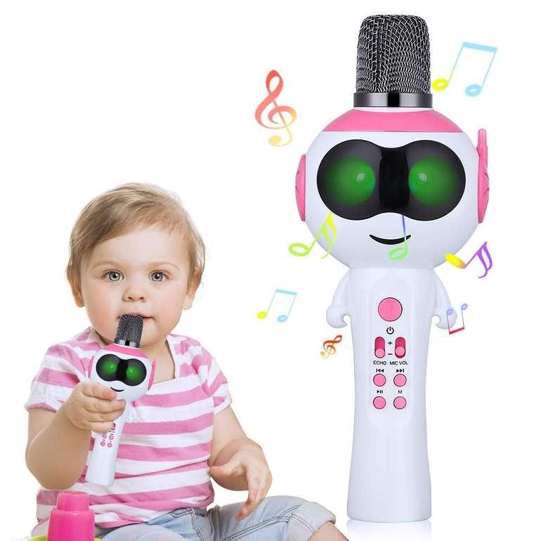 Mbuynow Kinder Karaoke Bluetooth 5.0 Mikrofon in 3 Farben ab je 9,99€ (Prime)