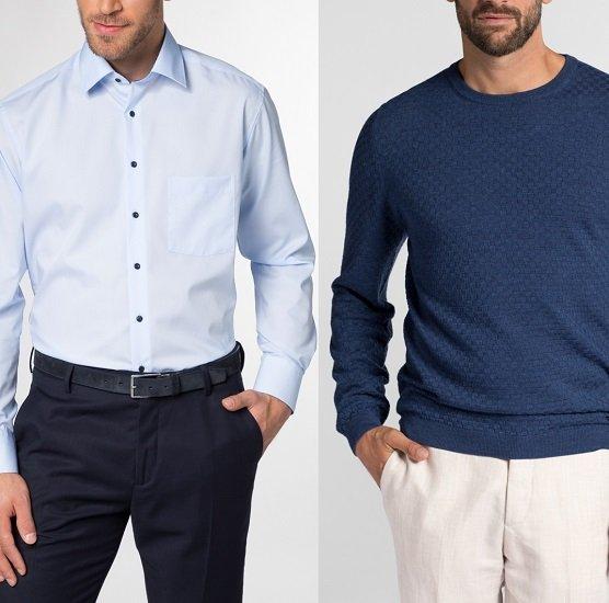 Eterna: Herren Hemd + Strickartikel für nur 79,95€ inkl. Versand (statt 120€)