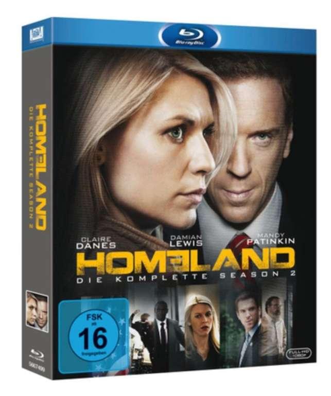 Homeland: Die komplette zweite Staffel (Blu-ray) für 4,63€ inkl. Versand (statt 10€)