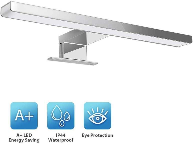 Kingso - 6W LED Spiegelleuchte (30 cm, IP44) für 13,99€ inkl. Prime Versand