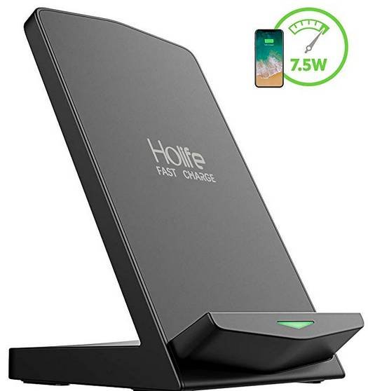 Holife Fast Wireless Charger 10W Qi für 11,99€ inkl. Primeversand (statt 17€)