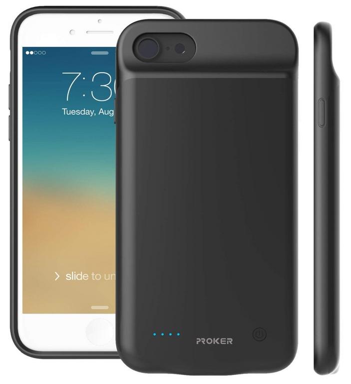 iPhone 8/7/6S/6 Case mit integrierter Powerbank für 14,48€ inkl. Versand (Prime)