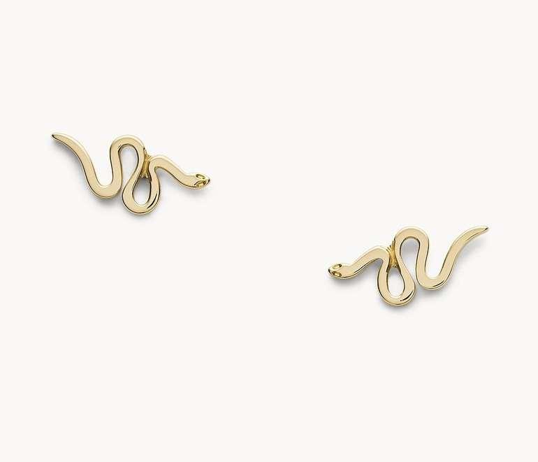 Fossil Damen Ohrstecker 'Serpent' (JF03292710) für 18€ inkl. Versand (statt 35€)