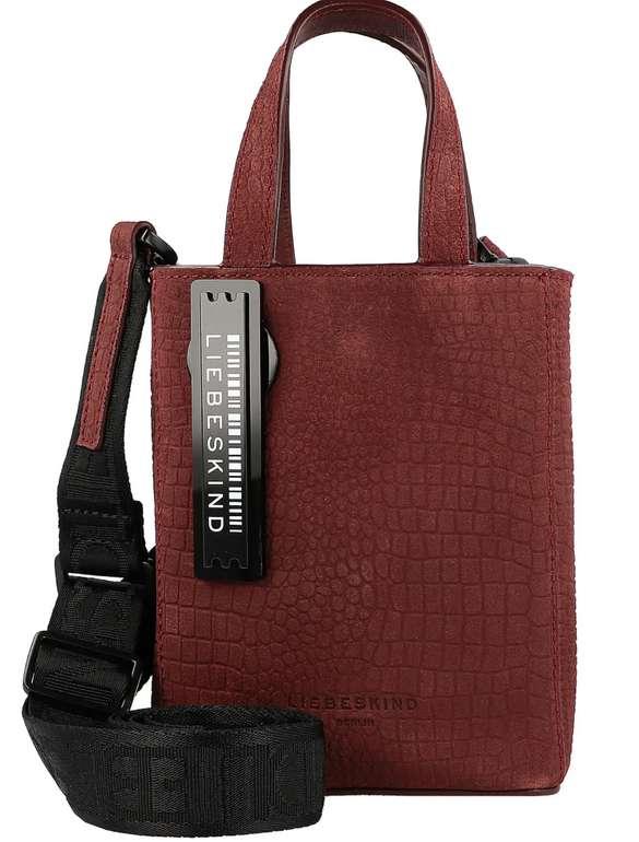 Liebeskind Paper Bag XS Handtasche Leder in Rot für 45,56€ inkl. Versand (statt 65€)